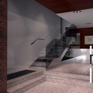 Consejos para pintar la escalera de su comunidad de vecinos for Apliques para escaleras de comunidad